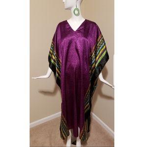 EUC Purple Caftan/Tunic/Robe